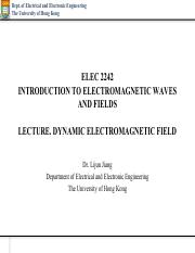 Introduction To Electromagnetic Fields Pdf