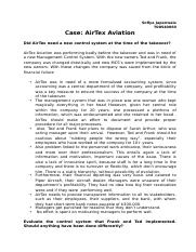 AirTex Avaiation case.docx