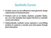 8.Synthetic Curves