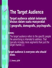 IMC-3_The Target Audience - Copy.ppt