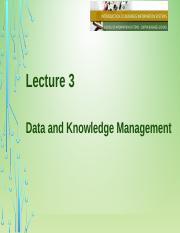 Lecture 3 Data-Knowledge Management.pptx