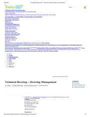 Drawing Management - Technical Drawing Questions and Answers.pdf