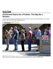 MIke Maciag-Voters Are a Problem This may be a solution-March 23 2016