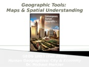 GEOG 1HB3 - Fall2015 - Lecture 04 - Geographic Tools - Maps & Spatial Understanding - student-A2L