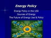 Energy Policy (SOE March 1)