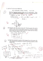 Midterm 1 (with Solutions)