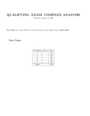 ComplexAnalysis2009jan