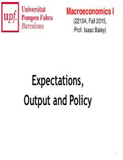 MacroIF15 - Lec8 - Expectations, Output and Policy.pdf