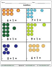 Add 1 to other numbers 6 to 10 with dots.pdf
