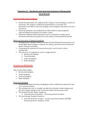 Chapter 8 Analysis and interpretations of financials statements.docx