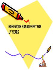 Home Work Management for 1st year in Sept.pdf