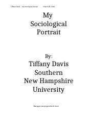 My Sociological Portrait.docx
