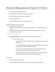 Business Management Chapter 15 Notes.docx