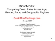 MicroMorts