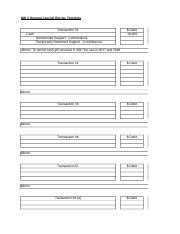 HW 3 General Journal Entries Template