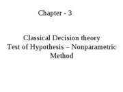 Or Classical Decision Theory5