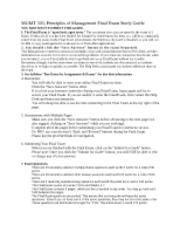 MGMT303 Final Exam Sstudy Guide 2 13