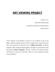 ART VIEWING PROJECT.docx