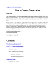 Cooperative Information Report 7