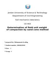 Determination of field unit weight.doc