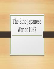 Edward Espinoza and Co. The Sino-Japanese War.pptx
