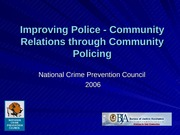 V1_Improving Police-Community Relations