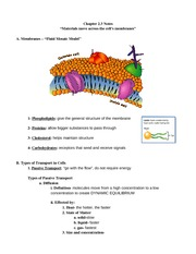 cell membranes review