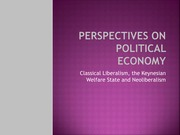 W07 - Perspectives on Political Economy