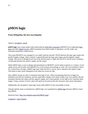 pMOS logic - Wikipedia, the free encyclopedia