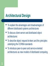 Chapter 6 - Architectural Design