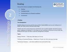 Unit two Reading