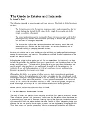 GuidetoEstatesandInterests,2002