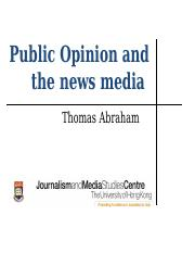 Public Opinion and the news media (1).ppt