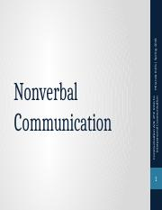 04 Nonverbal Communication Posted.pptx