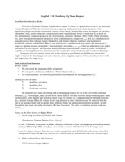 Research Endings Handout