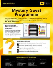 mystery-guest-programme