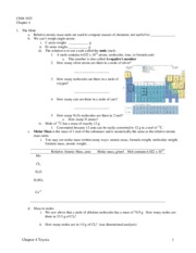 Chapter 4a notes