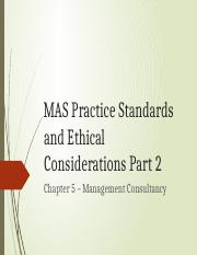 06 - MAS Practice Standards and Ethical Considerations - Part2.pptx