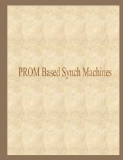 PROM Based Synch Machines.pdf
