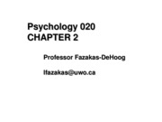 psych 020 web diagrams chapter2 & appendix  (methods & stats) ssc (003)  2007-2008