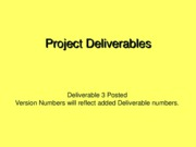 ProjectDeliverables.CEN6016.Fall2007.Del3