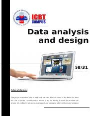 Data analysis and design