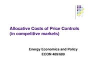 03.Allocative Costs of Price Controls (091410)
