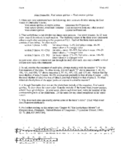 1-24 - Dunstable - Veni Sancte Spiritus - Worksheet