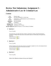 Administrative Law & Criminal Law.docx