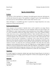 osmosis egg lab report .pdf - Alex lind Mr Julius 10\/19 ...