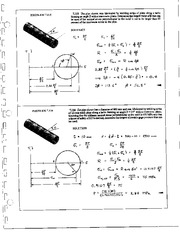858_Mechanics Homework Mechanics of Materials Solution