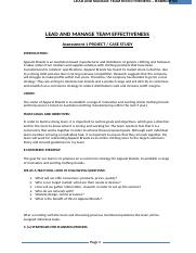 4 -BSBWOR502(SV) - Lead and manage team effectiveness.docx