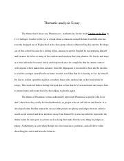 Catcher in the rye essay help