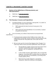 Econ 114 - Chapter 5 Lecture Notes (Student Copy)(1)